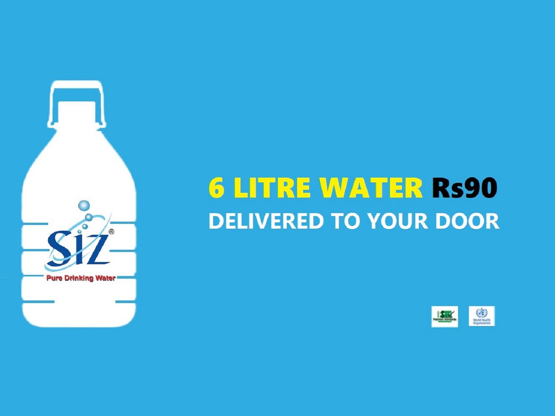 6 Litre Water SIZ